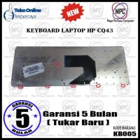 Keyboard Laptop HP COMPAQ CQ43 CQ57 CQ430 HP Pavilion G4 G6 Series