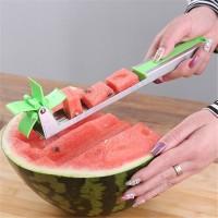 Pemotong semangka Watermelon Cutter Slincer Windmill Stainless Steel