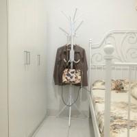 Stand Hanger / Gantungan Berdiri Multifungsi / Rak Tas Topi Baju