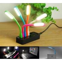 USB Led Stick Warna Warni Lampu Baca Flexible