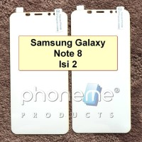 Samsung Galaxy Note 8 - 2x PhoneMe Anti Gores Full Cover Hydrogel