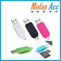#BA015 - Card Reader OTG - MicroSD - SD OTG +Card Reader