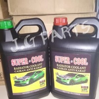 Air Radiator Coolant Cairan Anti Karat - Super Cool Hijau / Green 5 L