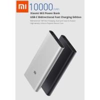 New Power Bank Xiaomi 3 10000mAh USB-C Fast Charging Powerbank Xiaomi