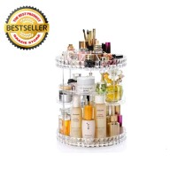 Rak Kosmetik Putar & Make Up Putar 360Derajat Rak Organizer Acrylic
