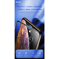 Baseus Tempered Glass Dust Prevention iPhone XS Max 11 Pro Max 6.5