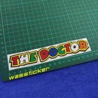 the doctor Valentino Rossi cutting sticker