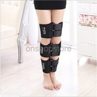 Jorzilano Leg Alat Pelurus Kaki Therapy Straight Set O X Warna Hitam