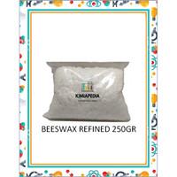 Refined White Beeswax Pellets / Peg 8 / Cera Alba Butir 250gr Import