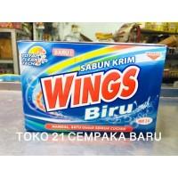 Sabun Cream WINGS BIRU BOX WB 3 K | Sabun Colek WINGS Deterjen WB3K