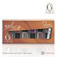 MADAME GIE NAIL SHELL SKIN SERIES 1 SET ISI 6 PCS