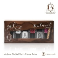 MADAME GIE NAIL SHELL NATURAL SERIES 1 SET ISI 6 PCS