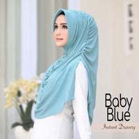 Jilbab Instan Hijab Khimar Syari Briany Kerut Serut Pet Rempel Murah
