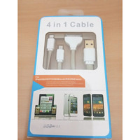 Kabel Data 4 in 1 / Kabel Data Charger Usb All In One
