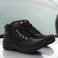 KICKERS Sepatu Pria Morisey Ziper Safety Boots Tracking Ujung Besi