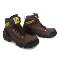 caterpillar argon mbc boots safety tracking hiking sepatu pria