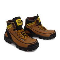 Sepatu Pria Caterpillar Argon Safety Boots Tracking Ujung Besi