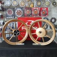 Velg Racing RCB 811 Beat Scoopy Vario 110 Genio 185 n 215 ring 14 Gold
