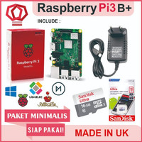 Raspberry Pi3 Pi 3 Model b+ 3b+ Plus Paket Minimal Pi3b+