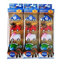 Mainan Robocar Poli P3 Set isi 4 dus - Mainan Anak Murah