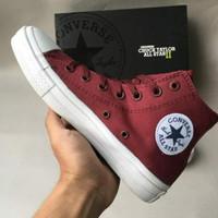 Sepatu Converse All stars CT 2 High Maroon sepatu pria murah terbaru