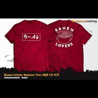T-Shirt Distro Jepang RAMEN LOVERS