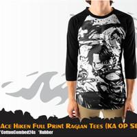 T-Shirt Raglan Fullprint ACE THE FIRE FIST