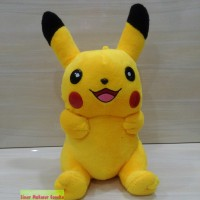 Boneka Pokemon Pikacu Lucu