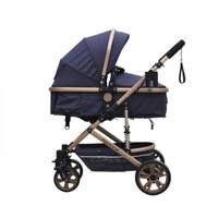 Baby Stroller Pliko Arizona Stroler Bayi Reversible Kereta Dorong Bayi