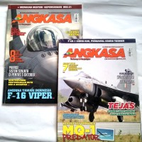 Ori bks Paket 2 Buku Majalah ANGKASA - Menguak Misteri...- F-CK-1Ching