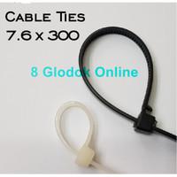 KABEL TIES 30 CM / 7.6 X 300MM CABLE TIES / CABEL TIS 30 CM NYLON