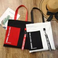 Tas Korea Kanvas Wanita Handbag Casual Sporty