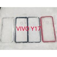 Case Magnet magnetic Anti Baret 2in 1 casing Cover Vivo y17 y 17 2019