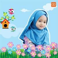 jilbab anak bayi/pashmina instan anak Hulya original hilzea size XS-S