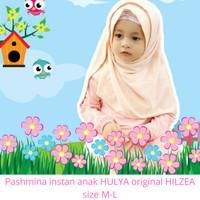 Jilbab anak SD / Pashmina instan anak HULYA original HILZEA size M-L