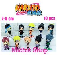 Figure Naruto chibi (set 10) Sasuke Sakura Kakshi Anime Naruto
