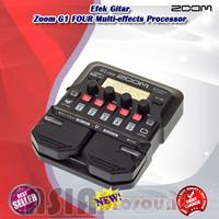 Efek Gitar Zoom G1 FOUR Multi-effects Processor Original Terbaru