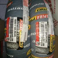 Aspira premio sportivo 100/80 ring 17 ban depan / belakang tubeless