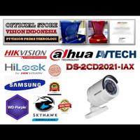 PROMO SALE NEW IP HIKVISION 1080P DS-2CD2021-IAX / H.265  LENSA 4.0mm