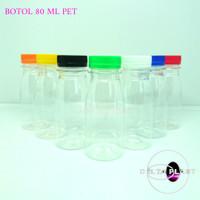 botol jelly 80 ml / botol plastik 80 ml / botol zam zam 80 ml