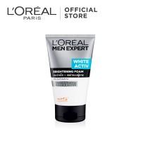 L'Oreal Paris Men Expert White Active Cleansing Foam Skin Care - 100ml