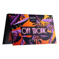 NYX Professional Makeup Off Tropic Shadow Palette - 02 Shifting Sand