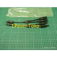 rate max 30a 4mm2 konektor MC4 cabang 2 untuk pemasangan Solar Panel P
