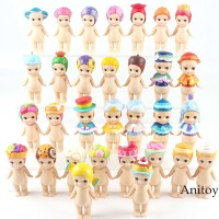 Sonny Angel Baby Dolls Flower Sweets Sky Color Series Action Figure
