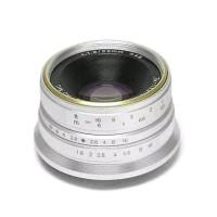 # Lensa 7artisan 25MM F1.8 For Fuji Miror Silver #
