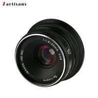 # Lensa 7artisan 25MM F1.8 For Fuji Miror Black #