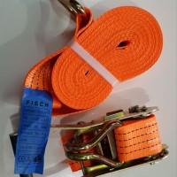 FISCH Webbing Cargo Lashing Belt Ratchet Tie Down 3 Ton 10 M Rachet