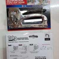 TOHO MULTIFUNCTION 3 in 1 Staple staples gun tacker Nail paku tembak