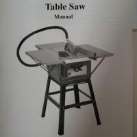 MOLLAR Table Saw 10 Inch Potong Kayu Meja Circular Saw stanley wipro