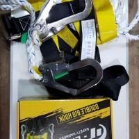 GTLIFE Full Body Harness Eco Double Big Hook Besar Sabuk Tali Pengaman